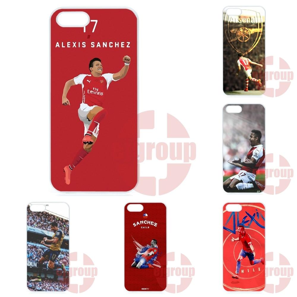 buy popular b6232 ff6ae US $4.96 |Alexis Sanchez Arsenal Jersey For Galaxy Core 4G Alpha Mega 2 6.3  Grand Prime S6 edge Plus Ace4 G313h G357 Plastic Cover Case on ...