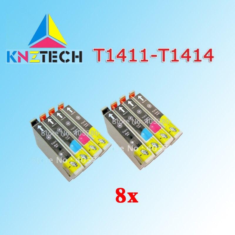 8 шт T1411/T1412/T1413/T1414 картридж совместимый для ME330 ME32 ME35 ME350 ME320 ME340