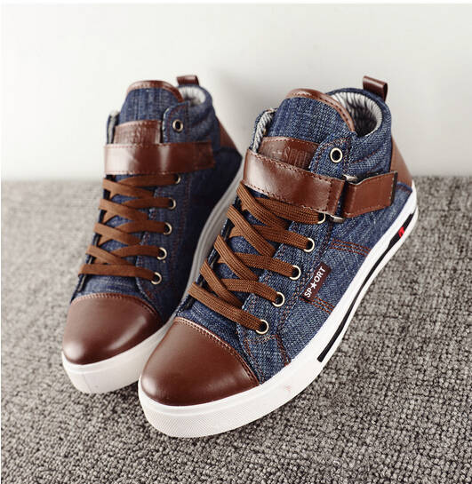 d982bdcb0635d2 Mens Jeans Shoes Mens Casual Shoes High Quality Fashion Cool Jean Shoes  with Buckle Discount Cheap on Aliexpress.com | Alibaba Group