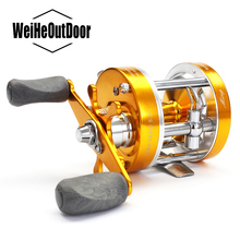 Right/Left Hand 40# Fishing Reel Aluminum alloy Saltwater Bait casting Reel Full Metal Carp Drum Wheel Speed Ratio:4.2:1 Pesca