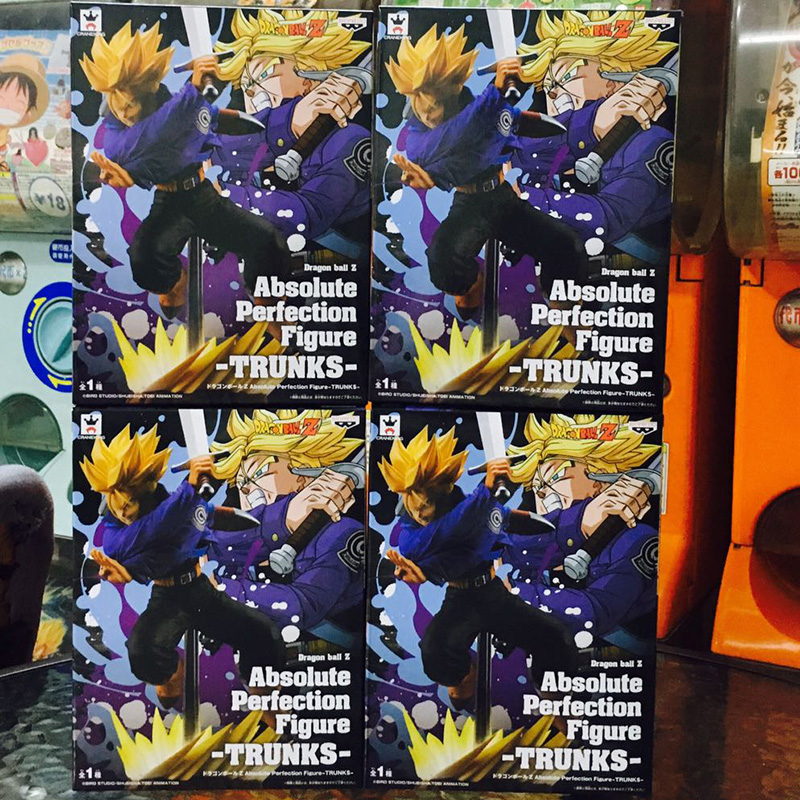 BANDAI DRAGON BALL Z Super Absolute Perfection Figure 3 Type set Japan import