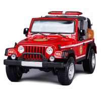 Maisto 1:18 jeep wrangler rubicon red yellow car diecast big motorcar diecast for collecting car models gift for kids 36115