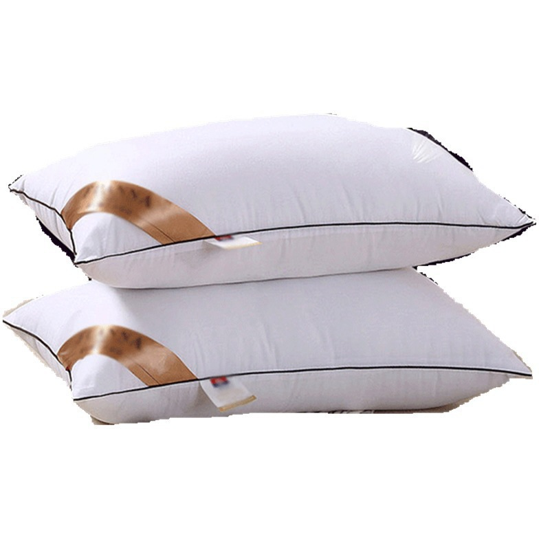 Thickened Feather Pillow PP Cotton Pillow Core Bedding Set 48 74cm Solid Color Pillow Inner Bedroom Home Textile Home Living in Decorative Pillows from Home Garden