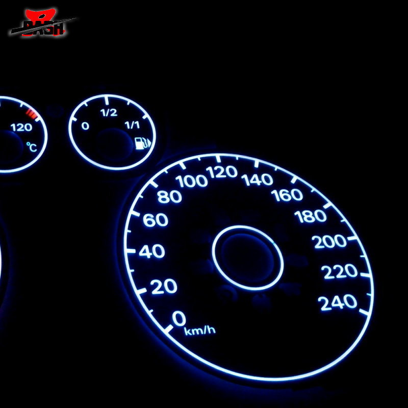 Dash El Glow Gauge For Ford Focus 2000 2002 Reverse Black Face White Light In Sdometers From Automobiles Motorcycles On Aliexpress Alibaba