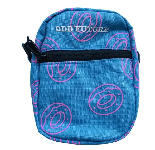 Brand New ODD FUTURE Tyler The Creator Golf Golf Le Fleur Shoulder Bag Side Bag Waist Hip Fanny Packs Pack 23*18 Cm #089