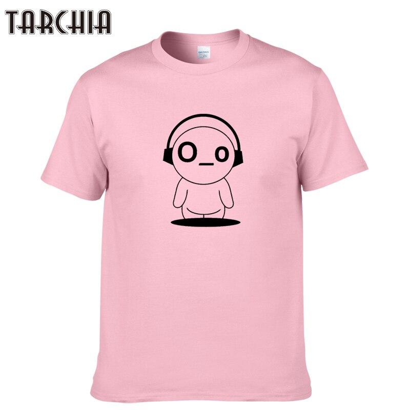 TARCHIA 2019 fashion funny summer t-shirt weirdo premium cotton tops tees men short sleeve boy casual homme tshirt t shirt plus