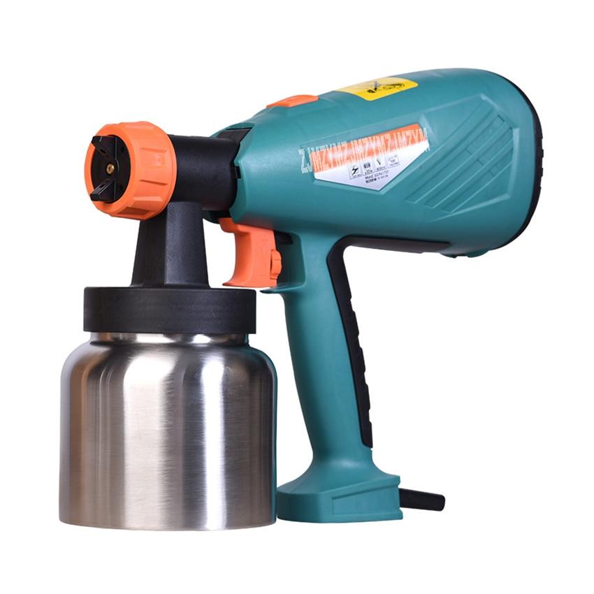 цена на New SG9617ST Electric Spray Paint Gun Household Airless Spray Machine Latex Paint Spray Paint Machine 220V 650W 1000ml/min 800ml