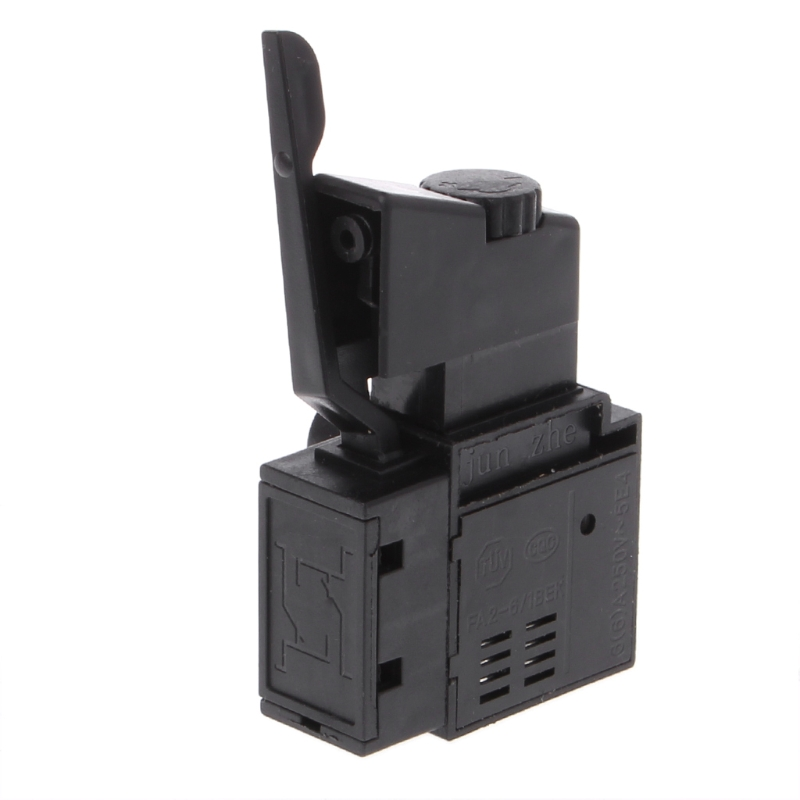 FA2-6/1BEK Lock on Power Tool Electric Drill Speed Control Trigger Button Switch