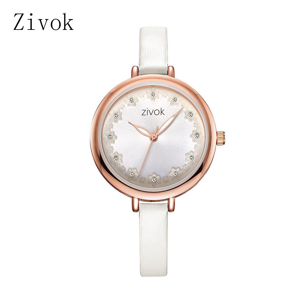 Zivok Relojes para mujeres 2018 Flores Relojes para mujeres pequeños - Relojes para mujeres