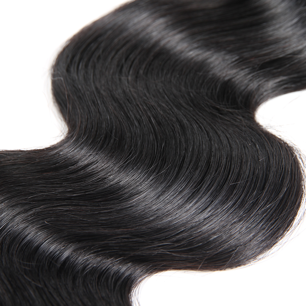 Кеми волос мода индийский тело волна человеческих волос ткет естественный Цвет для волос Salon 13x4 кружева фронтальной застежка с 3 Связки