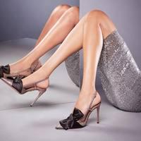 Carole Levy/2019 г. современные элегантные туфли лодочки на тонком каблуке женские летние босоножки черного цвета на шпильке с бантом