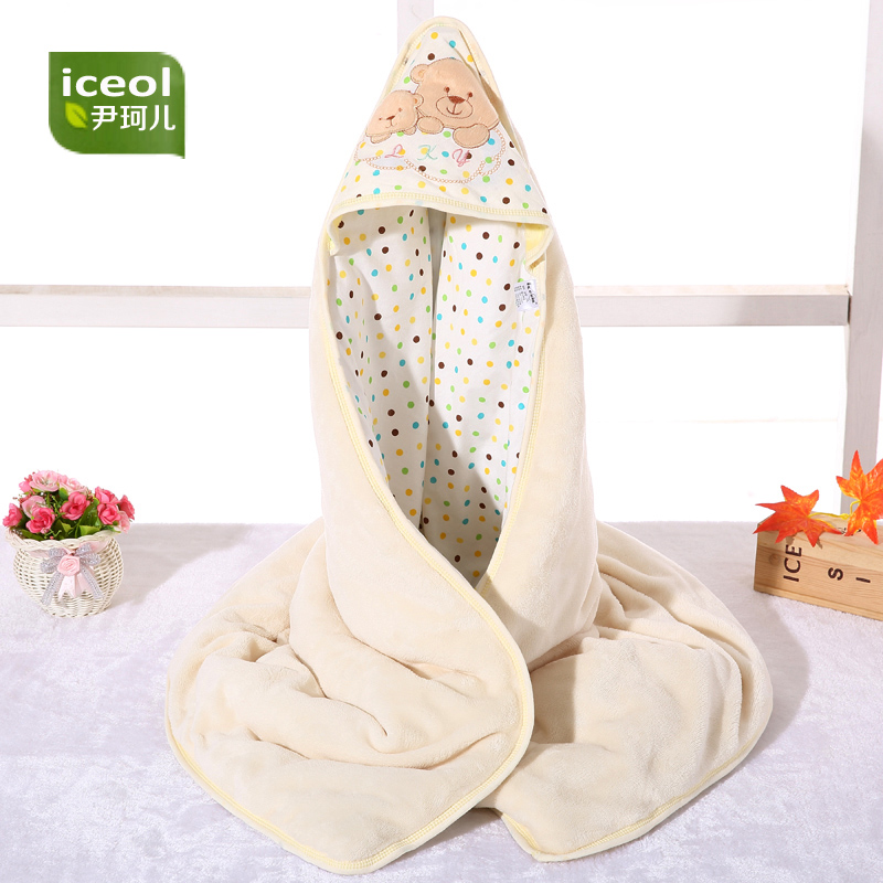 Flannel Newborn Baby Swaddles Blanket Autumn Organic Color Cotton Boy Girl Infant Wrap Winter Blankets Swaddling Soft Bedding aibeile 2017 new 3 colors bear elephant flannel baby blanket newborn soft cartoon blankets 100 100cm for beds thick warm kids