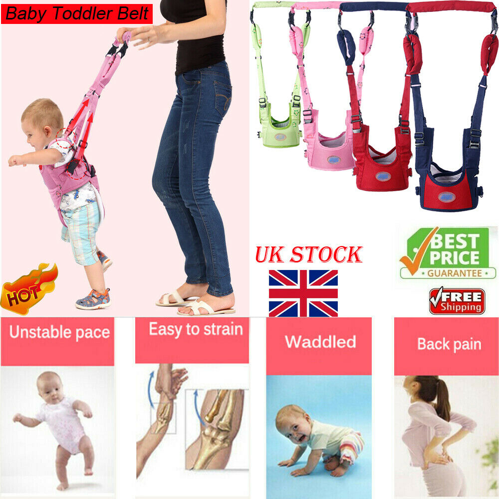 Baby Newborn Safe Walk Learning Assistant Walk Safety Belt Harness Walker Wings
