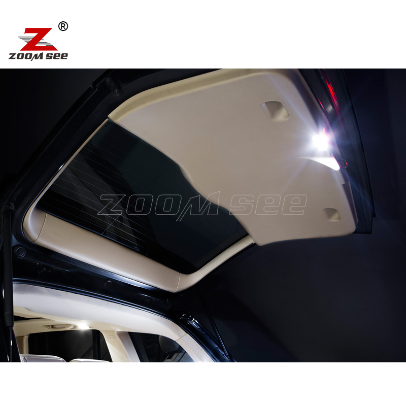 23 шт. светодиодный фонарь для номерного знака+ интерьерный купольный светильник, комплект посылка для BMW X3 F25(2011