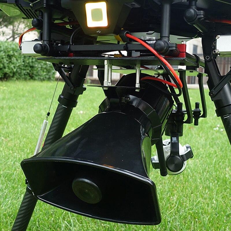 Głośnik megafon dla Drone lotnicze syrena Buzzer nadawania dla UAV Multirotor FPV samolot dla rządu policji Rescue szukaj w Części i akcesoria od Zabawki i hobby na  Grupa 1