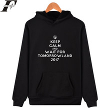 Luckyfridayf tomorrowlandパーカースウェットシャツ長袖パーカー男性プラスサイズ音楽祭黒スウェットシャツ男性ストリート4xl