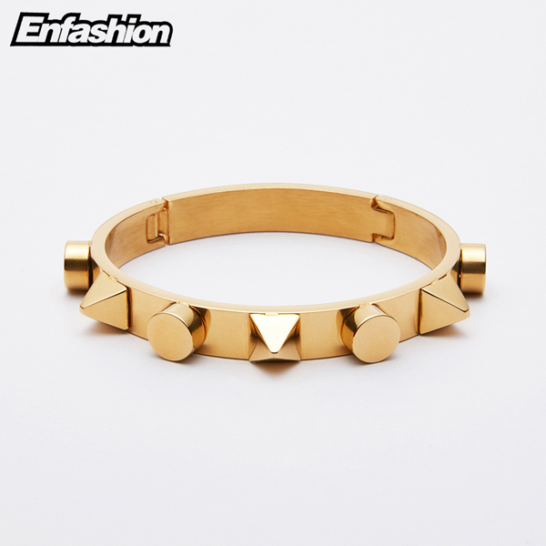 Enfashion Pyramid Cuff...