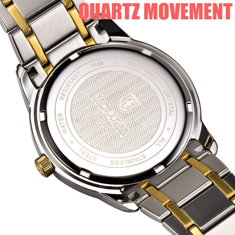 HOLUNS relogio masculino full stainless steel men automatic watch top brand luxury 5ATM waterproof Super luminous HOLUNS relogio masculino full stainless steel men automatic watch top brand luxury 5ATM waterproof Super luminous dropshipping