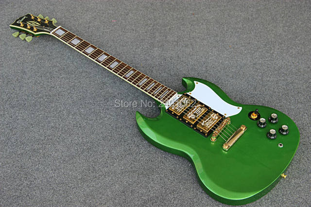 Cute 3 pickup guitar images electrical circuit diagram ideas online shop custom made electric guitar metal green 3 pickup guitar cheapraybanclubmaster Images