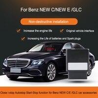 Close i stop автостоп Start Stop функция для Benz GLC E Class C Class 2018 автомобильные аксессуары