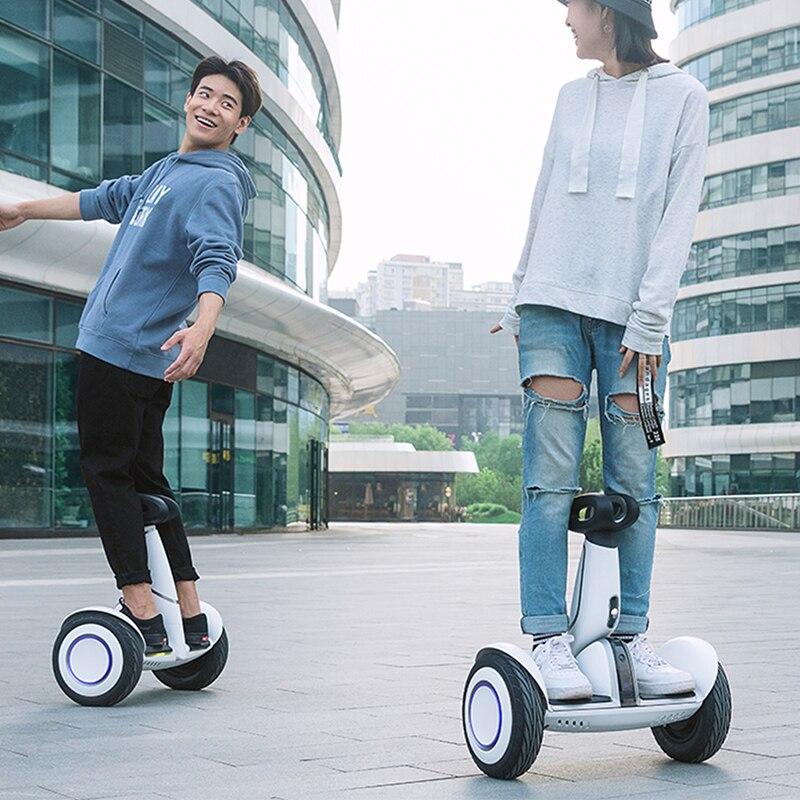 Оригинальный Xiaomi Mini Plus самобалансирующийся скутер 2 колесный умный электрический скутер Ховерборд скейтборд с приложением LED Ховерборд - 6