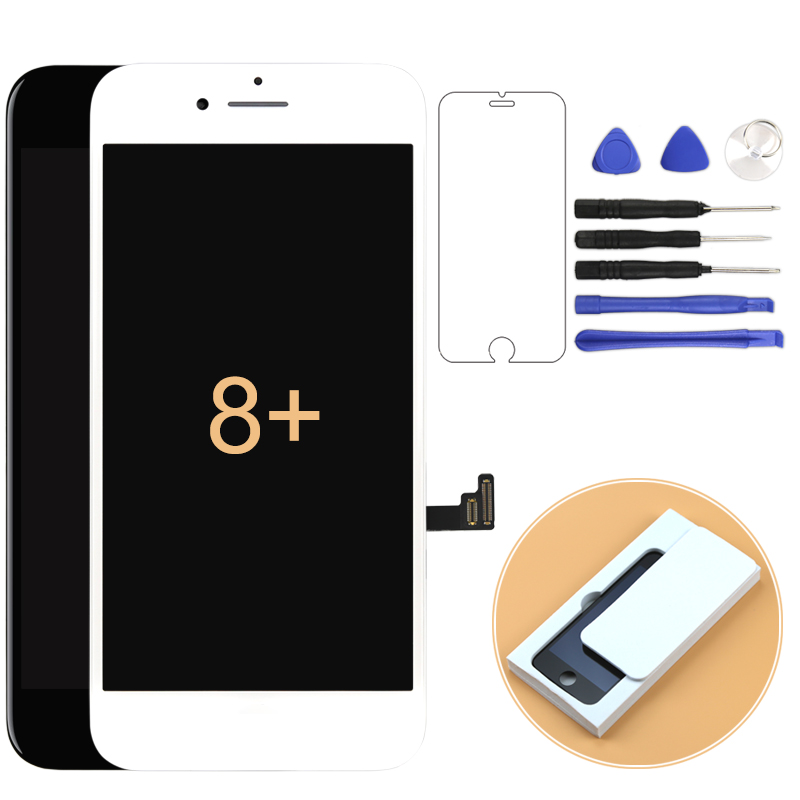 For Iphone 8 plus LCD Tianma&OEM Quality Display Premium Version Grade Touch Screen Assembly Replacement 100% Tested +Gifts(China)