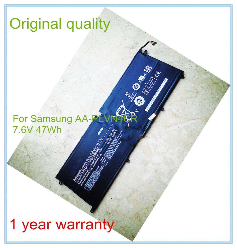 7.6V 6260mAh original laptop battery AA-PLVN4CR for ultra-book Replacement Batteries batteria Free shipping