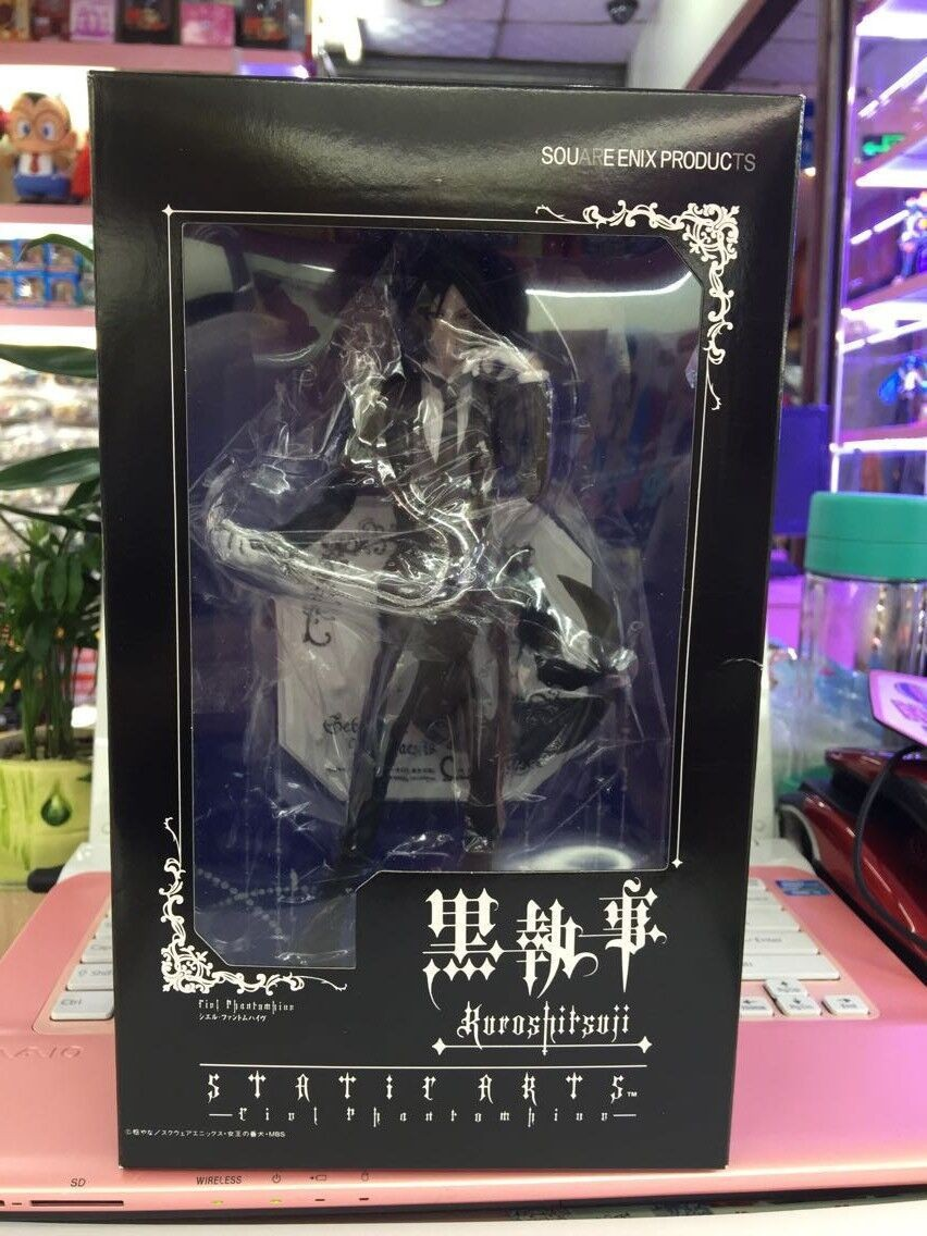 Hot Sale Devil Sebastian Michaelis Japan Classic Comic Anime Toboso Yana Black Butler 9 Action Figure Toys KA0408 sebastian туфли