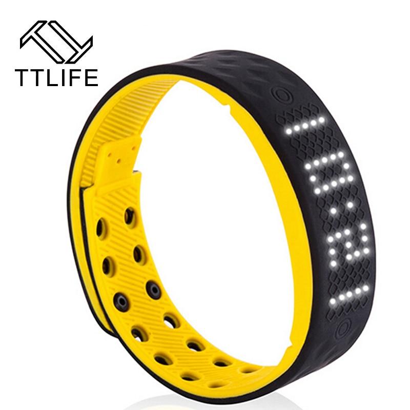 TTLIFE Sports Health Pedometer Smart Bracelet Wrist band Fitness Tracker Sleep Monitor Smart band for iPhone