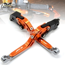 цена Motorcycle Brake Clutch Lever Folding Extendable Brake Levers For KTM 125 DUKE 125DUKE RC 125 2011 2012 2013 2014 2015 2016 онлайн в 2017 году
