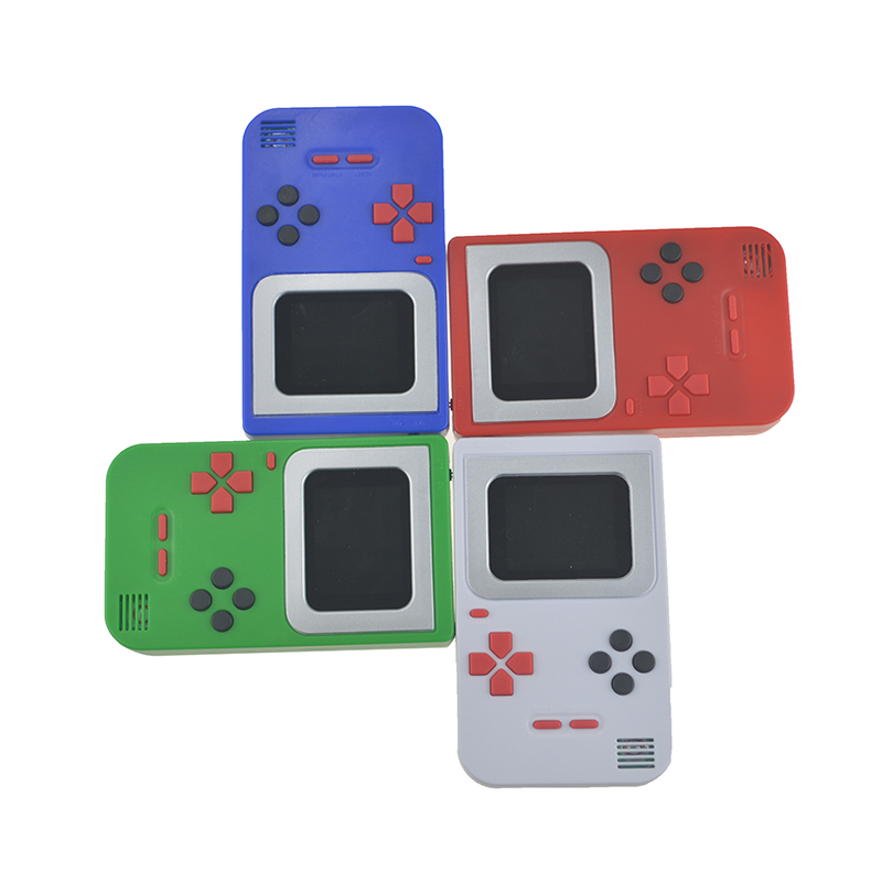 Portable 2.0 Inch Retro Video Game Console Built-In 268 Games Handheld Gaming Player Ultra-Thin Color screen