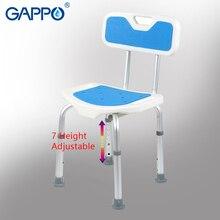 GAPPO настенное сиденье для душа складные откидные стулья скамейка сиденье для душа ванна Расслабление складное кресло душ ожидание мест