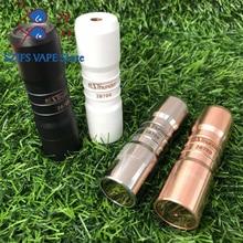 цены e cigarette Elthunder Mod V3 18650/20700 battery 24mm Red copper mechanical mod vaporizer box mod fit 510 thread Atomizer RDA