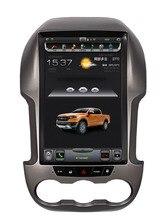 LaiQi 12,1 «Quadcore dvd-плеер автомобиля 1280×800 Telsa Стиль вертикальный Экран 32 Гб Встроенная память стерео gps навигации для Ford Ranger F250