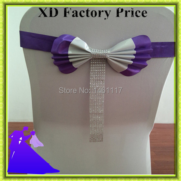 2016 New Product High Quality Chair Cover Sash & Chair Cover Bow & Weding Chair Sash FREE SHIPPING
