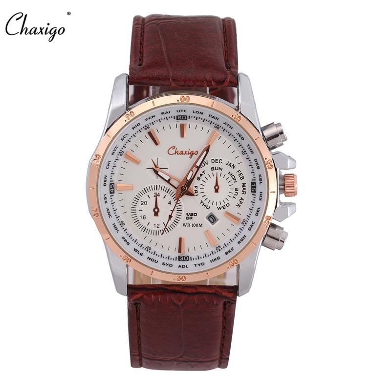 chaxigo brand quartz mens cheap wrist watches b