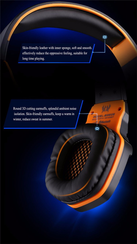 EACH B3505 Wrieless Bluetooth 4.1 Stereo Headphone Headband Earphone Headset with Mic for iPhone 6iPhone6 Plus Samsung (12)