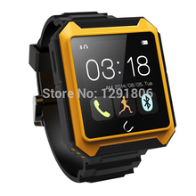 Waterproof Watch Android Smart Phone Watch Shockproof Smart Wristwatch with passometer/call reminder/message reminder/Dustproof