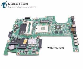 NOKOTION For dell Studio 1558 Laptop Motherboard CN-04DKNR 04DKNR DA0FM9MB8D1 HM57 HD5470 DDR3 Free cpu