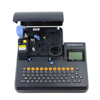 Free By DHL PVC Tube Printer S 650 Shrinkable Tube Electronic Lettering Machine Shrinkable Cable ID