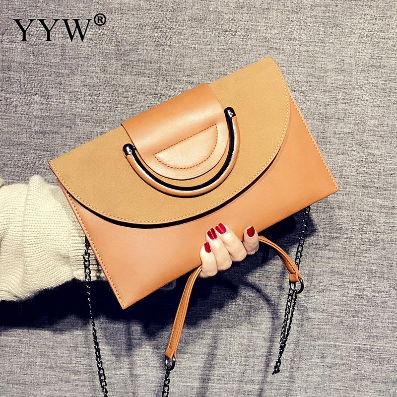 Elegant Design Brand Shoulder Bag Brown Ladies Upscale Evening Party Small Clutch And Purse Handbag Famous Brands Women Clutches