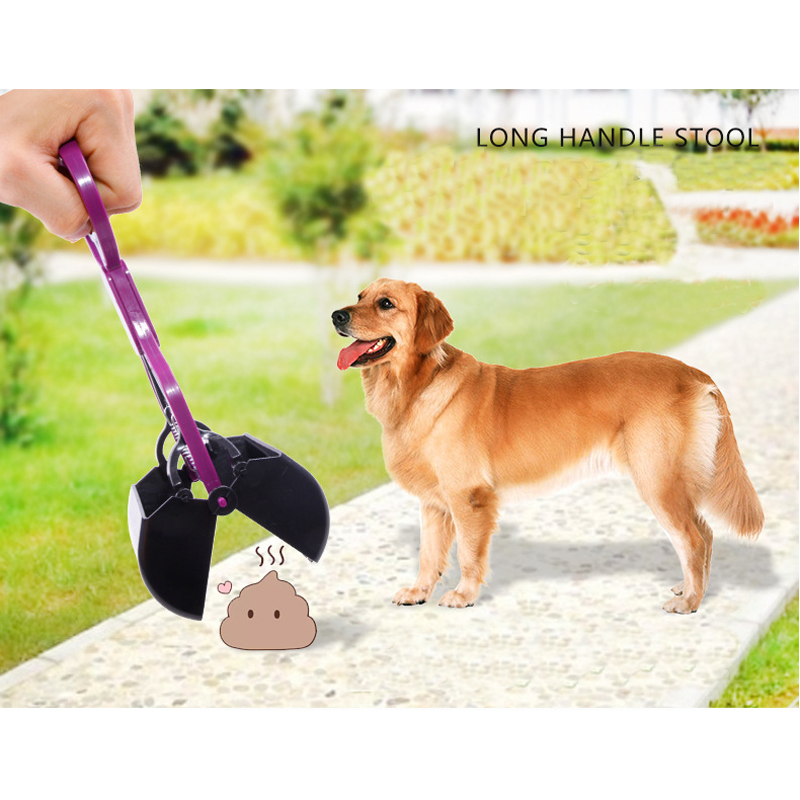 Длинная ручка собака Pooper scooper собака кошка фекалии стрейч лопатой домашних животных Тематические товары про рептилий и земноводных инструм...