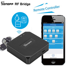 Sonoff RF Bridge Smart Home Wireless Wifi Remote For Home Automation 433mhz Universal Switch Intelligent Wi-Fi Remote Controller