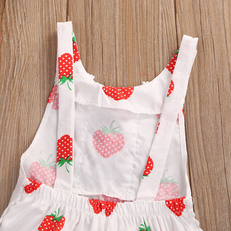Baby floral romper Summer Toddle infant girls clothing Baby girls Sleeveless Jumpsuit Cotton Baby Outfits Clothes