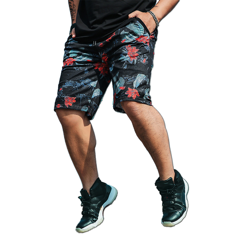 men plus size beach shorts breathable knee length men Board shorts big size 5XL 6XL 7XL Summer Pantalones Hombre
