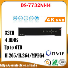 DS-7732NI-I4 English version NVR 32ch no POE ANR NVR Thirdparty network cameras supported HMDI at up to 4K,4SATA for 4HDD H.265