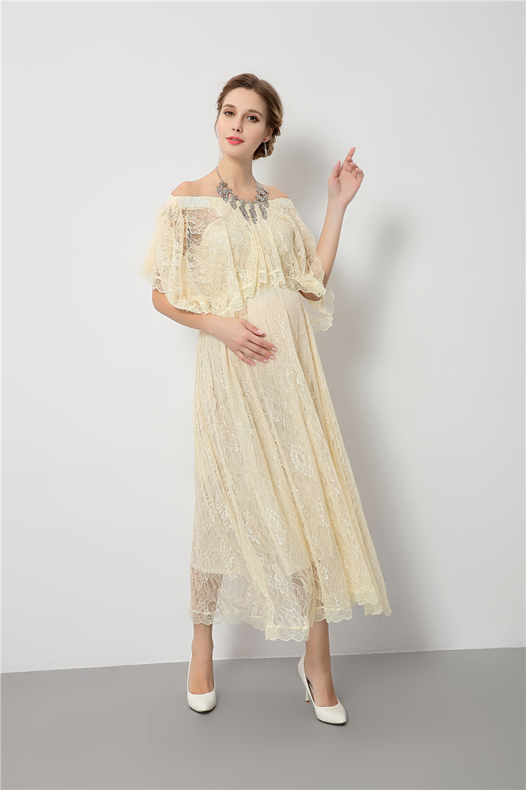 Online get cheap lace maternity dresses for baby shower high quality maternity dress for baby showers lace pregancy dress for photo shoot shoulerless maternity phototgraphy props ombrellifo Image collections