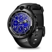 Men GPS WIFI Smart Watch 4G Bluetooth Dual Camera AMOLED Display Heart Rate Monitor Music Playing Pedometer Gift Sports Portable