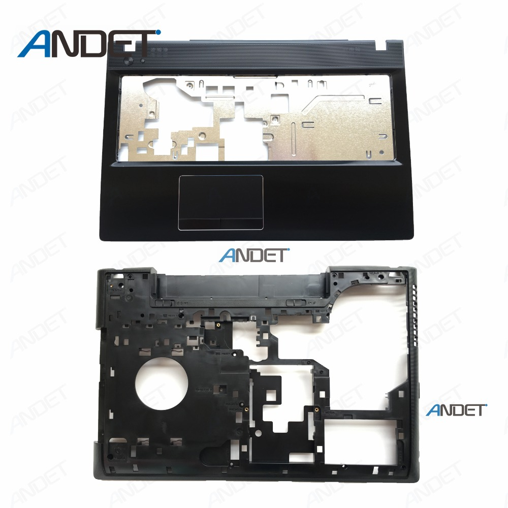 New Original For Lenovo G500 G505 G510 Palmrest Keyboard Bezel Lower Case Bottom Cover AP0Y0000600 AP0Y0000700