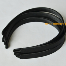 Черные атласные головные ободки повязки 13 мм для головной убор Sinamay kentucky derby